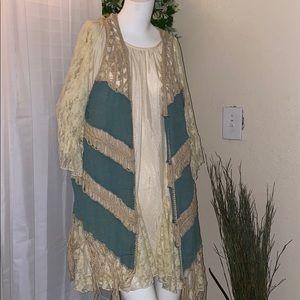 Bohemian vest
